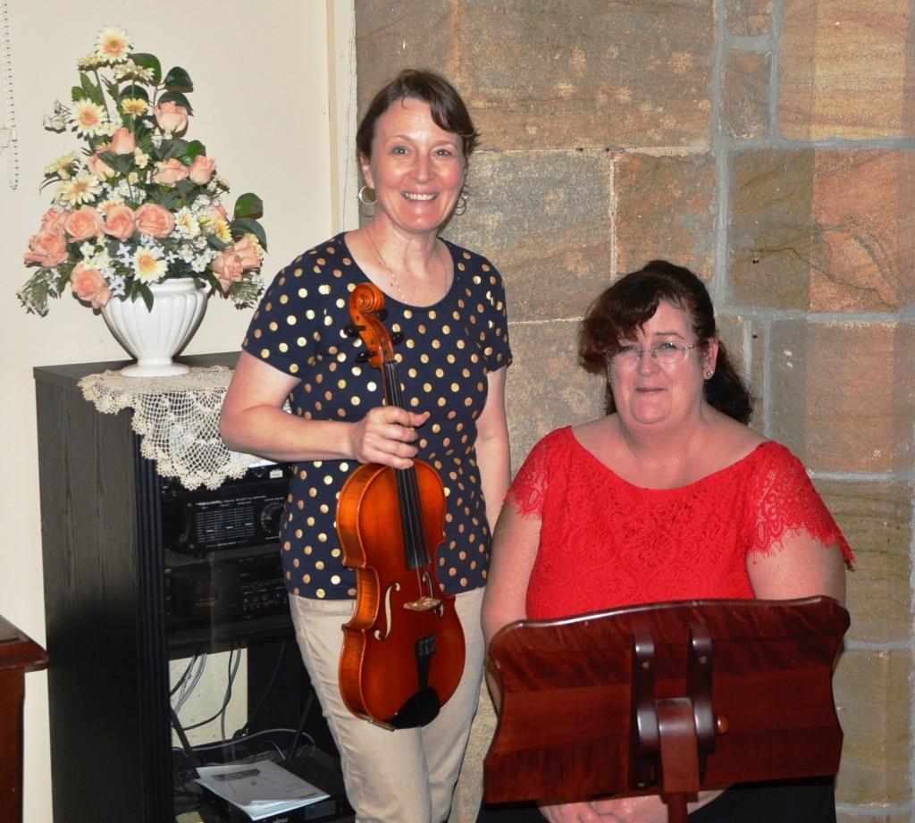 Pam and Anna music association
