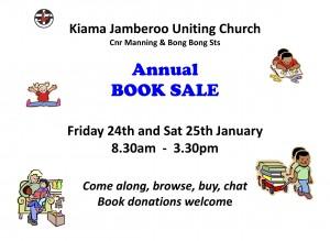 Book Sale Leaflet
